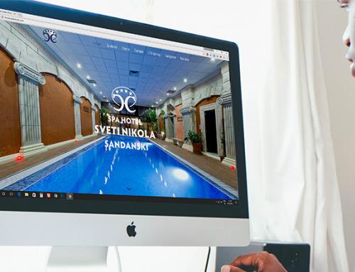 """Уеб Студио Allegra представя новата онлайн визия на СПА Хотел """"Свети Никола"""" гр. Сандански"""